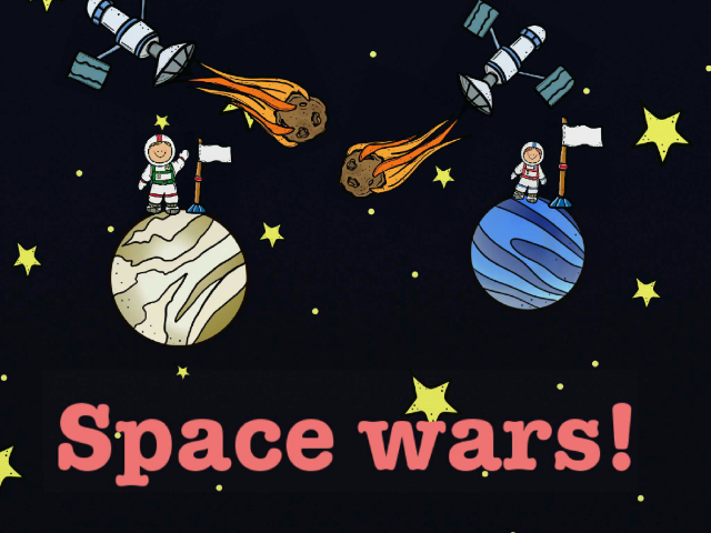 SPACE WARS!!! by edward slover