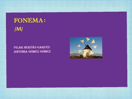 Fonema m by pilitoninas primitivas