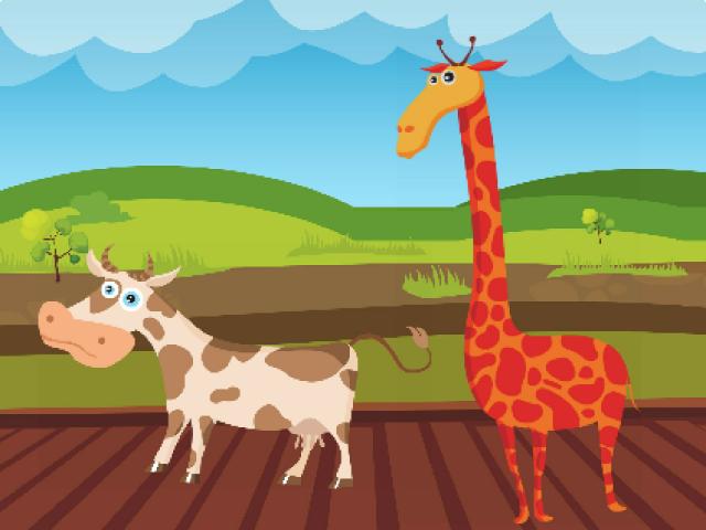 تعلم الحيوانات للاطفال by Amira Bakhta