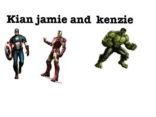avengers  by mcpake family