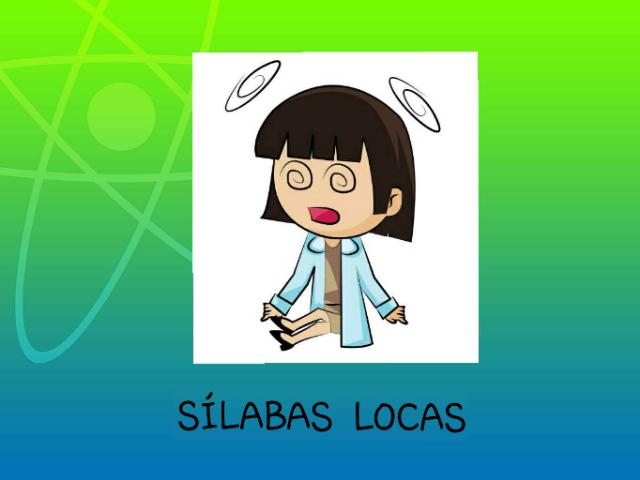 Ordena Las sílabas locas by Maria Isabel Diaz-ropero Angulo