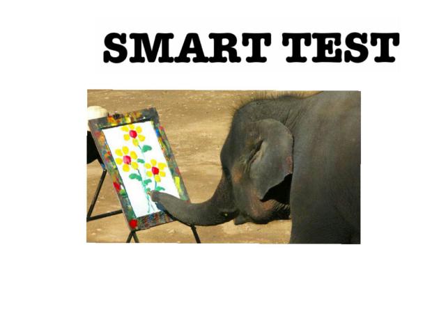 Smart test by Stephen Farrell