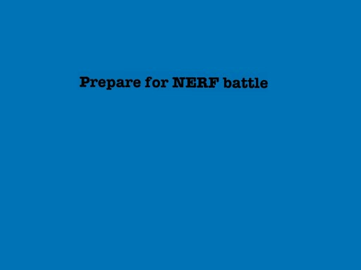 PREPARE FOR NERF BATTLE by Mega  Charizard X