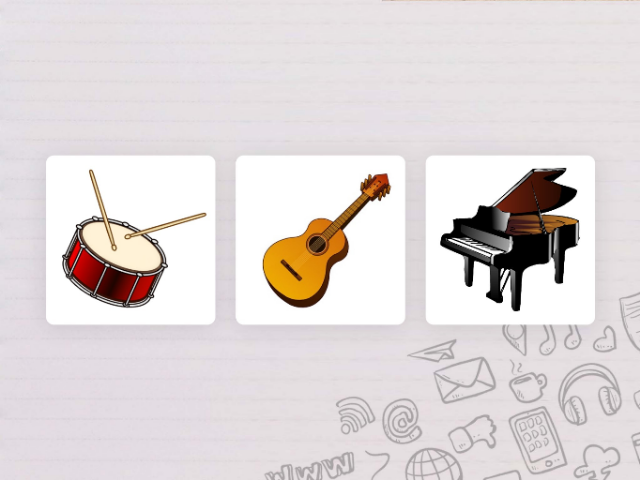 Instruments Game by Mohamed Sabry