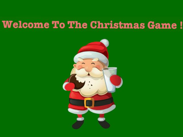 The Christmas Game ! by Milasha Hunter