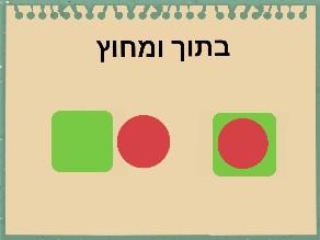 בתוך ומחוץ. by Chai Halfon Hadar Scheer