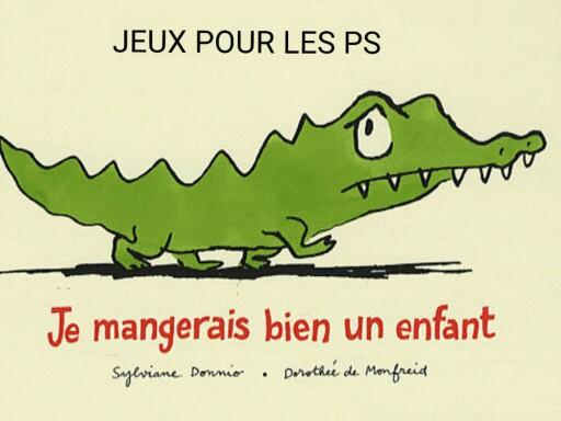 """SRA JEU PS """"Je mangerais bien un enfant"""" by Serge Salvat"""