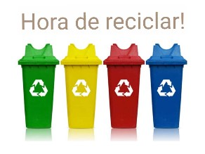 Hora de reciclar!  by Gabriela Ferreira