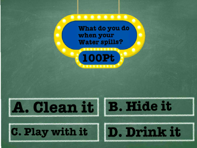 """a mini games for your child two play called """"two questions"""" by janelly bernardez"""
