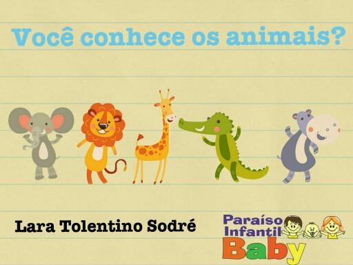Os animais by Lara Sodré