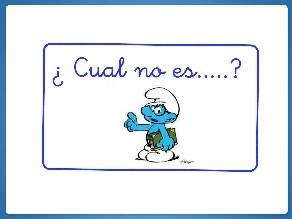 ¿Cuál no es......? by Maria Isabel Diaz-ropero Angulo