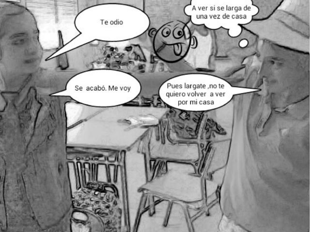 La discursión by Ceip Seara