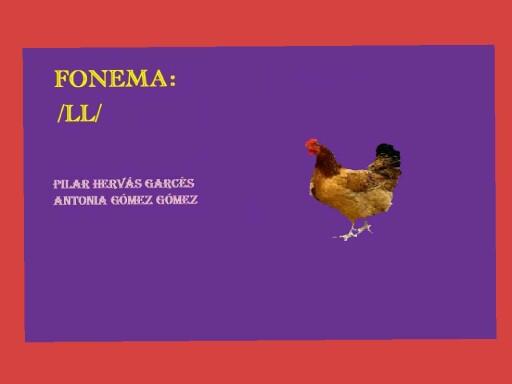 Fonema ll by pilitoninas primitivas