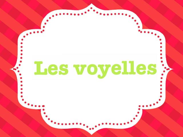 Les voyelles by Lucie Ed