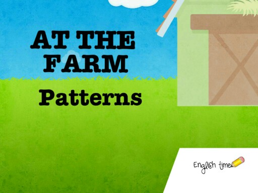 At the farm ~ patterns by Cecilia Zezlin