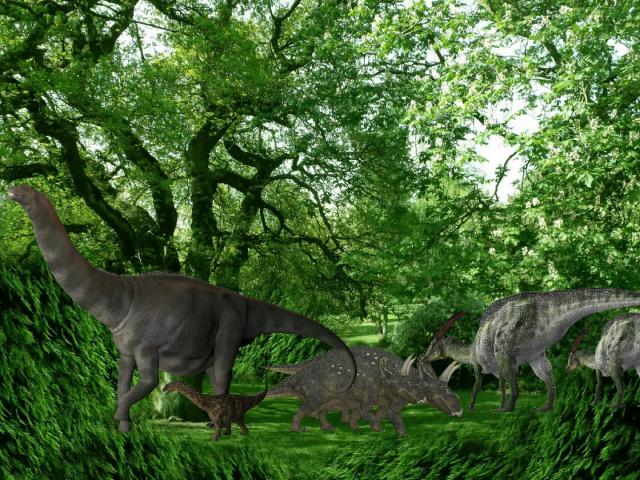 Dinosaur puzzle by Kenyang Kenyang