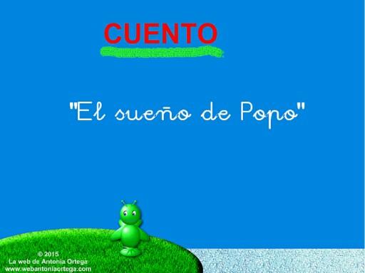 7 LEER CUENTO EL SUEÑO DE POPO by Antonia Ortega López