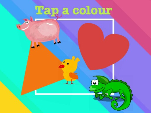 tap a colour by Joanne Forrester