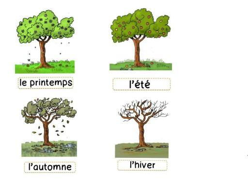 les saisons by ecole lasolitude