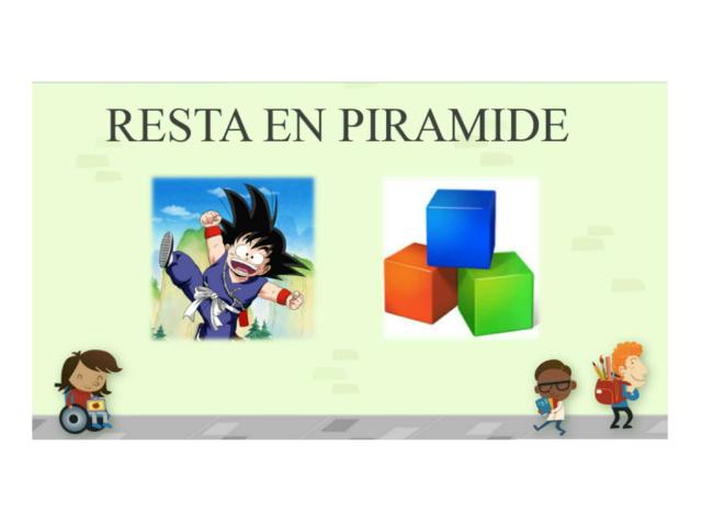 Resta en Pirámide I by IRIS SALGADO AVILES