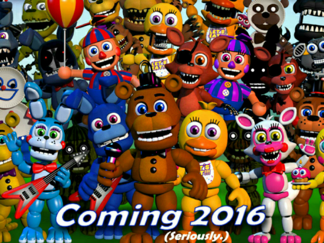 FNAF World Mini-games by Ben Gold