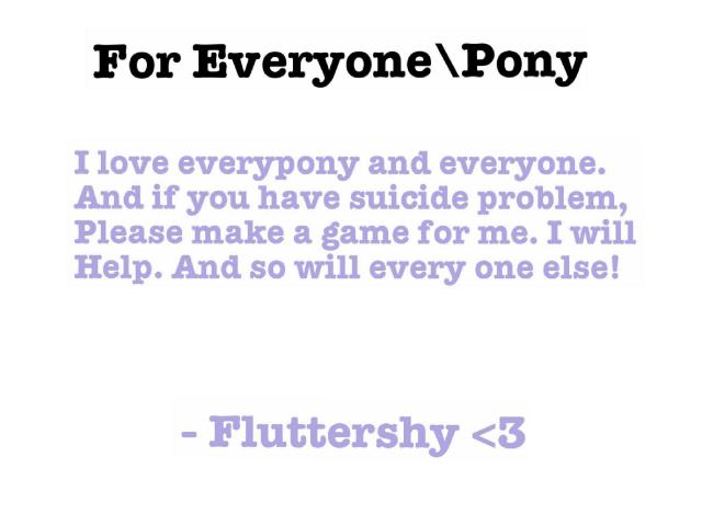 READ PLEASE by Fluttershy <3