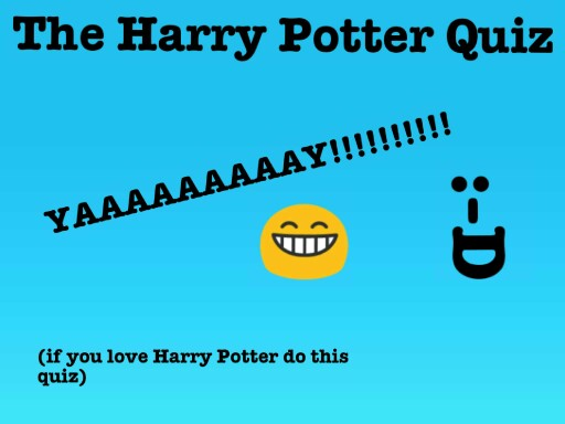 The Harry Potter Quiz by Twilight Sparkle