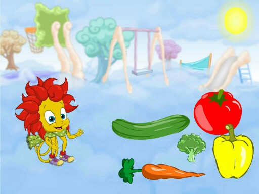 Breezy's vegestables and bed by Milasha Hunter