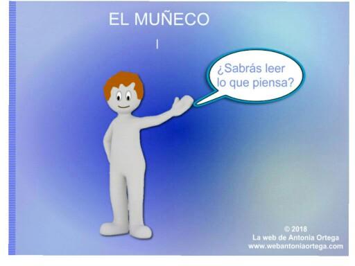 EL MUÑECO 1 ACCIONES by Antonia Ortega López
