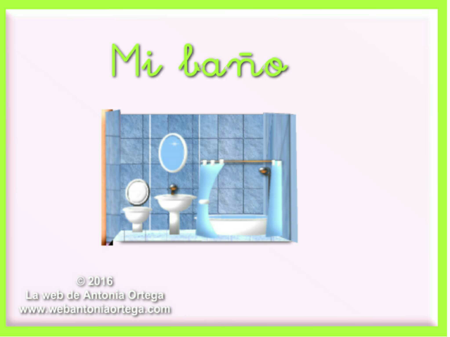 Mi baño by Antonia Ortega López