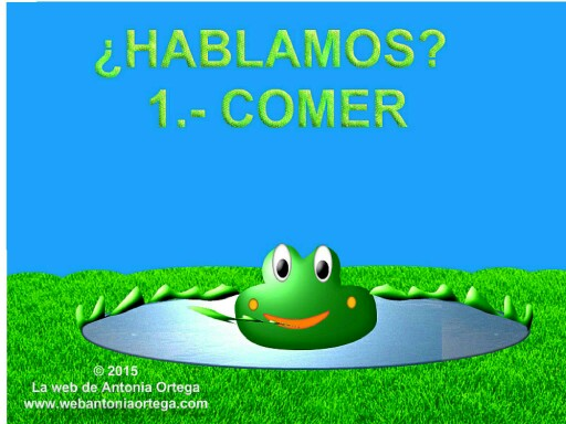 HABLAMOS 1 COMER by Antonia Ortega López