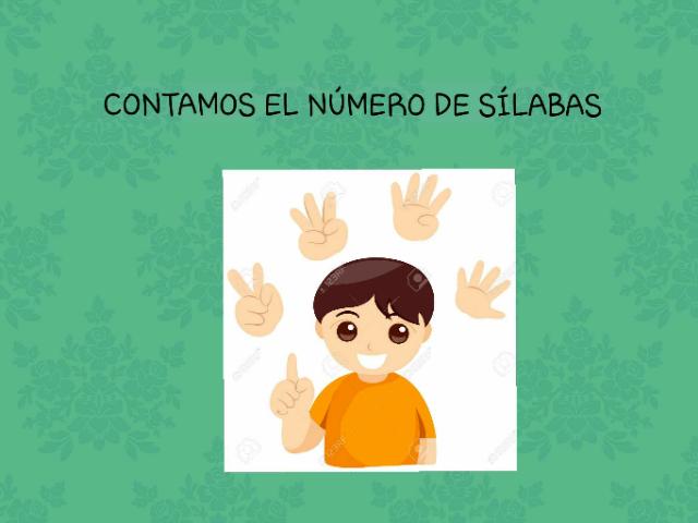 CONTAMOS sílabas by Maria Isabel Diaz-ropero Angulo