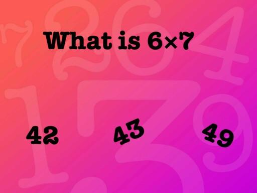 easy maths by Jade Sanders