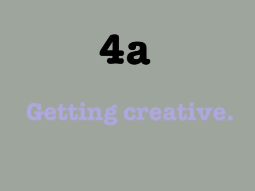 Getting creative by ابهار عسيري