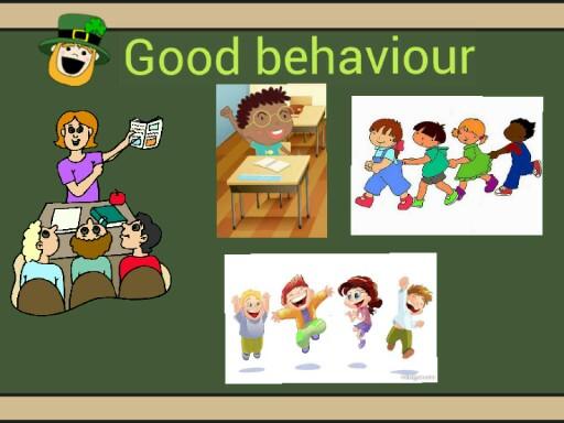 Behave at school by Paula Martinez Garcia