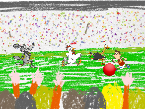 world champion soccergame by marcella vanh