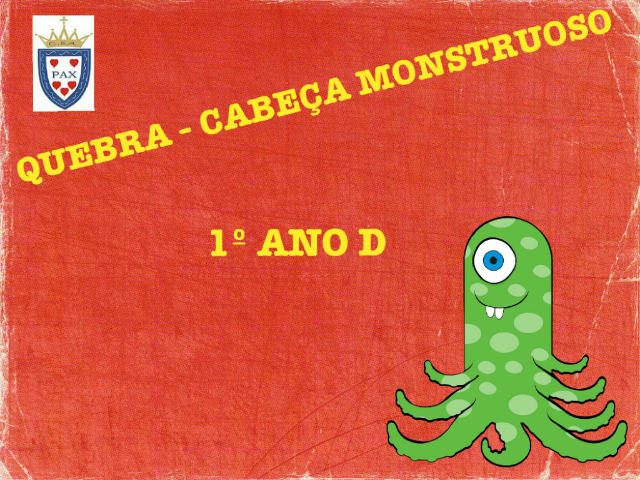 1 ano D by Colegio  Santo Americo