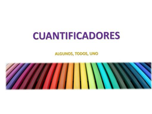 Cuantificadores: Algunos,Todos, Uno by IRIS SALGADO AVILES