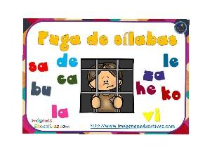 Busca la sílaba que falta by Maria Isabel Diaz-ropero Angulo