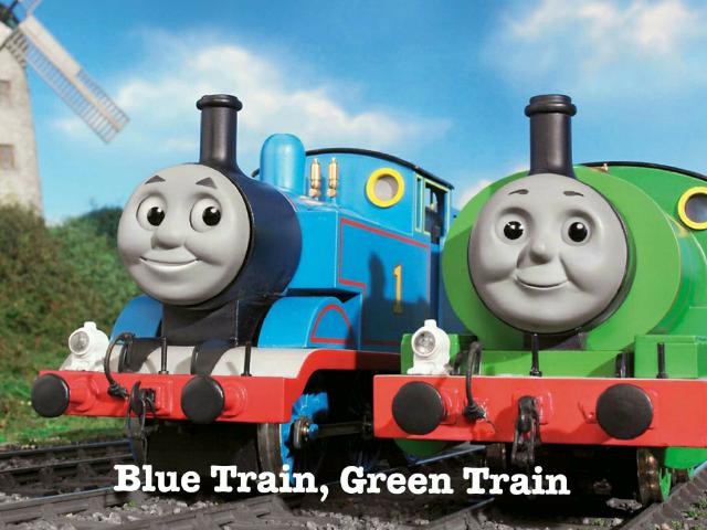 Blue Train, Green Train by Tolongeese Punzal