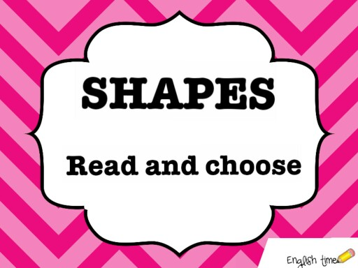 shapes ~  read and choose by Cecilia Zezlin