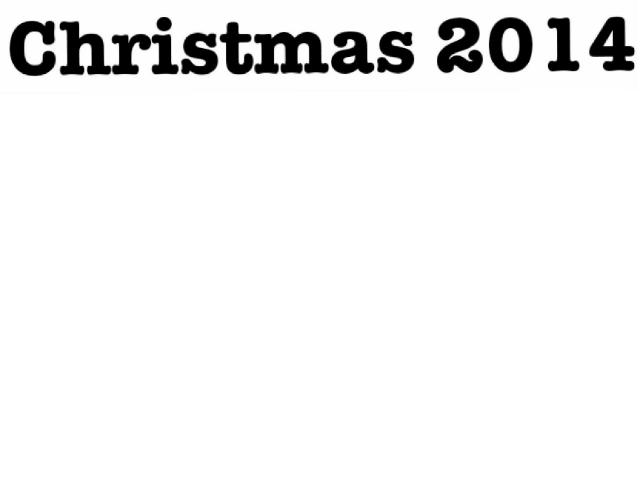 Christmas 2014 by mcpake family