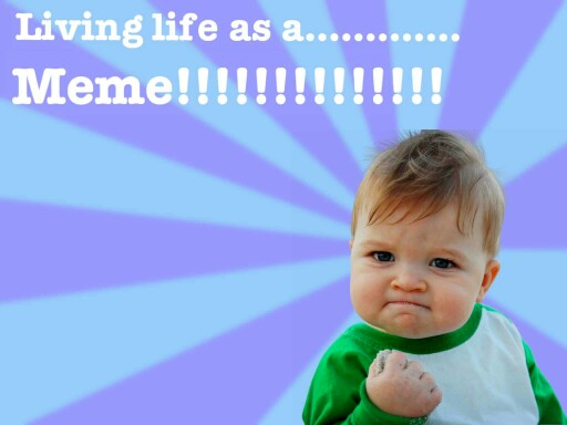 living life as a meme by Darnell Pierre