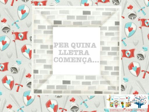 PER QUINA LLETRA COMENÇA. . .  - ST. JORDI  by Detalls amb ànima