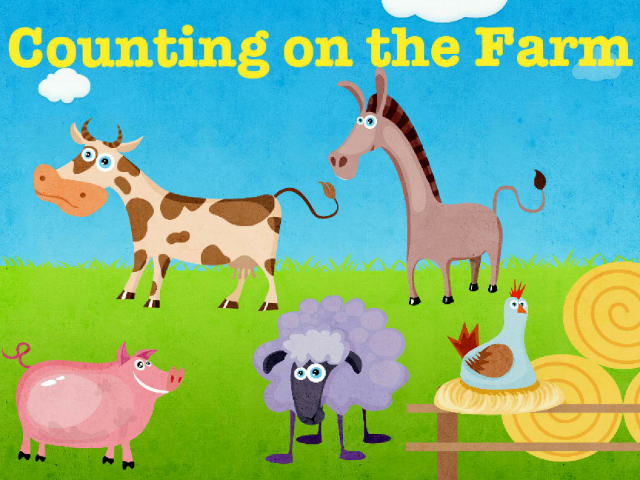 Counting on the Farm by Joanne Forrester