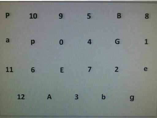 חזרה למבחן באנגלית אותיות ומספרים by מור קנדי