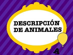 Descripción de animales by Colegio Jaby
