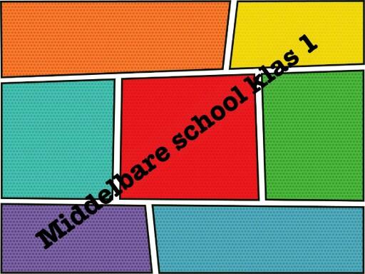 Middelbare school klas 1 by Lieke van der Tang