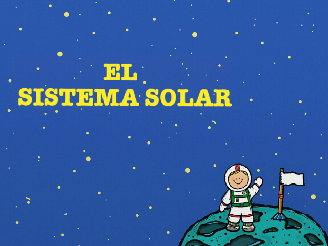 EL SISTEMA SOLAR by María Castellano Mármol