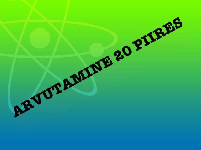Arvutamine 20 piires by Ly Torn